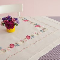 Rico Flower Tendril Cloth Embroidery Kit