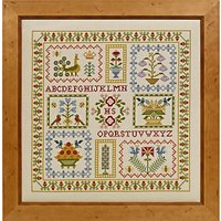 Historical Sampler Acorn Cross Stitch Kit