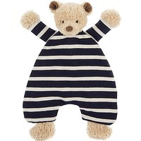 Jellycat Breton Bear Soother Soft Toy, One Size, Blue