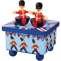 Orange Tree Wooden Soldier Music Box