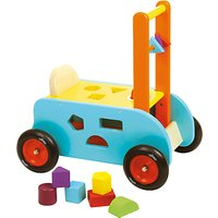 Vilac Wooden 3-in-1 Multi Activity Ride On Cart and Walker