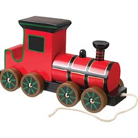 Orange Tree Baby Steam Train Pull Along Wooden Toy