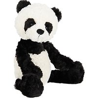 Jellycat Mumbles Mumble Panda Soft Toy, Medium, Black/White