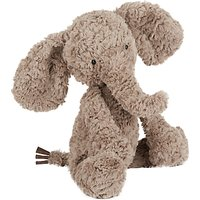 Jellycat Mumbles Mumble Elephant Soft Toy, Medium, Brown