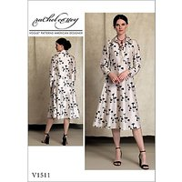Vogue Misses Womens Sewing Pattern, 1511