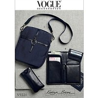Vogue Women's Travel Accessories Sewing Pattern, 9221, One Size