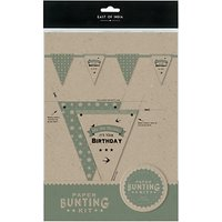 East of India Birthday Bunting Kit