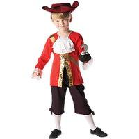 Captain Hook Childrens Costume, 5-6 years
