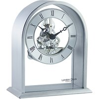 London Clock Company Archtop Skeleton Mantel Clock