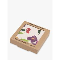 Emma Bridgewater Wallflower Coasters, Set of 4