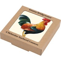 Emma Bridgewater Chicken Coasters, Set of 4