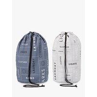 John Lewis Brooklyn Laundry Bags, Set of 2