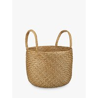 John Lewis and Partners Fusion Natural Seagrass Basket