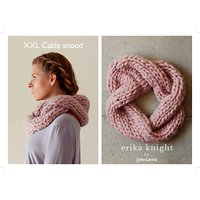 Erika Knight for John Lewis XXL Cable Snood Knitting Pattern