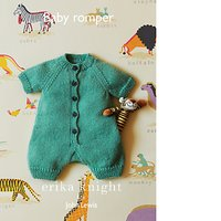 Erika Knight for John Lewis Baby Romper Knitting Pattern