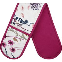 John Lewis Floral Double Oven Glove