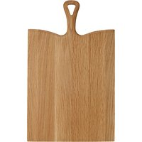 John Lewis Croft Collection Oak Wood Handle Chopping Board