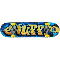 Enuff Graffiti Skateboard, Orange/Blue