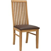 John Lewis & Partners Henry Chair, Leather Seat