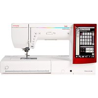 Janome Memory Craft 14000 Sewing Machine, White