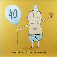 Rosie Made A Thing 40th Boy Birthday Card