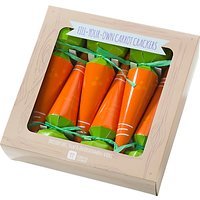 Talking Tables Easter Carrot Crackers, Pack Of 6