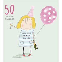Rosie Made A Thing 50th Birthday Card
