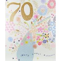 Woodmansterne Spray Of Flowers Greeting Card