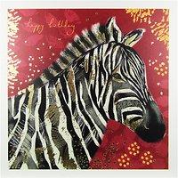 Woodmansterne Zebra Greeting Card