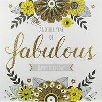 Rachel Ellen Secret Garden Fabulous Birthday Card