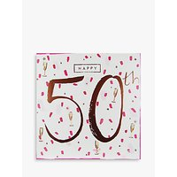 Cardmix 50th Birthday Card
