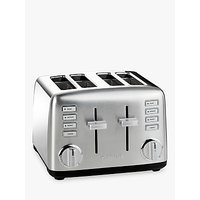 Buy Cuisinart Signature Collection 4 Slot Toaster, Silver - John Lewis