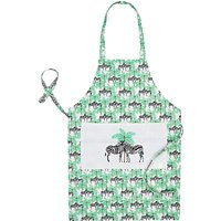Fenella Smith Zebra and Palm Tree Apron