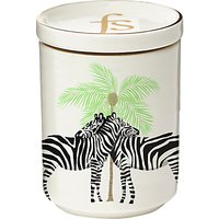Fenella Smith Zebra and Palm Tree Candle with Lid