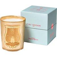 Cire Trudon Adb El Kader Christmas Candle, Gold, 800g