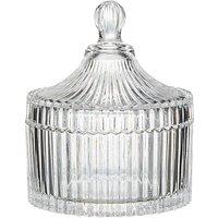 John Lewis Glass Cotton Jar, Small