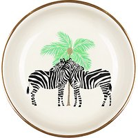 Fenella Smith Zebra and Palm Tree Ring Plate