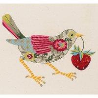 Nicola Jarvis Thrush Crewel Work Embroidery Kit