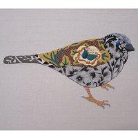 Nicola Jarvis Sparrow Crewel Work Embroidery Kit