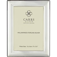 Carrs Berkeley Plain Frame, 5 x 3.5, Sterling Silver