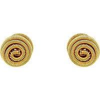 Monet Spiral Ball Stud Earrings
