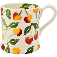 Emma Bridgewater Summer Cherries Half Pint Mug, Multi, 284ml