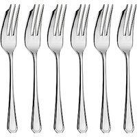 Arthur Price Grecian Pastry Forks, Set of 6