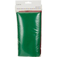 John Lewis Craft Felt, Pack of 5