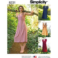 Simplicity Sew House Seven Sewing Pattern, 8231