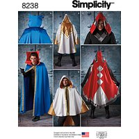 Simplicity Misses' Alice In Wonderland Costume Sewing Pattern, 8237, RS