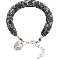 Martick Spacedust Heart Charm Bracelet