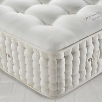John Lewis The Ultimate Collection Silk Pocket Spring Zip Link Mattress, Medium, Emperor