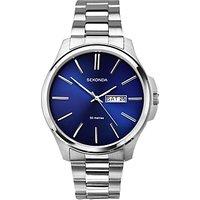 Sekonda Mens Day Date Bracelet Strap Watch