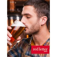 Red Letter Days Brewery Tour And Beer Tasting